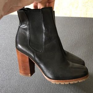COACH classic Chelsea leather boots